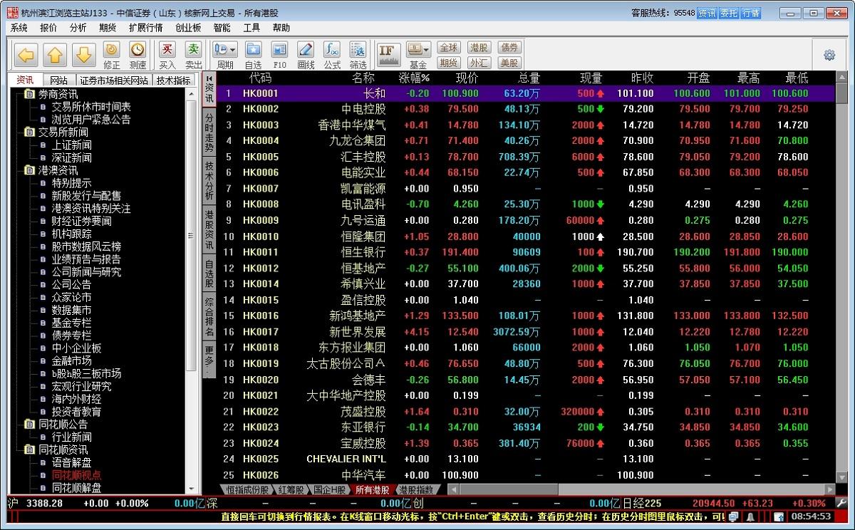 中信证券(山东)网上交易系统 v2.4 免费版 0