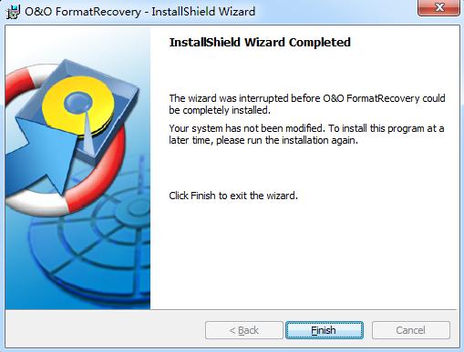 O&O FormatRecovery(分区恢复工具 ) v4.1 正式版0