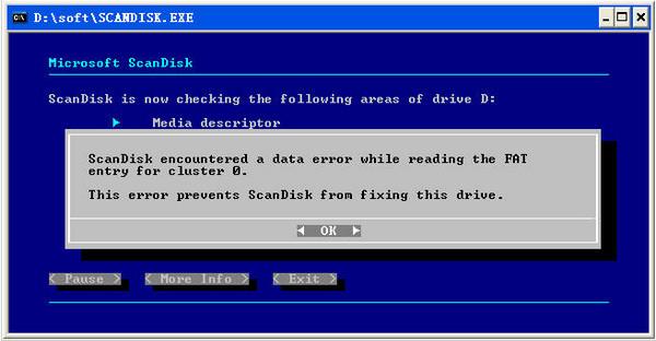 scandisk磁盘扫描修复工具 v1.0 正式版 0