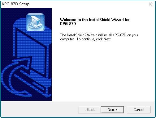 KPG-87D写频软件