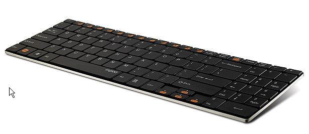 雷柏无线超薄键盘e9070驱动