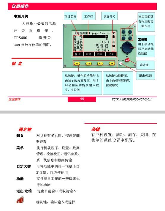 徕卡全站仪使用说明书 pdf彩色版