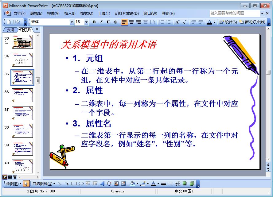ACCESS2010基础教程PPT免费版  2