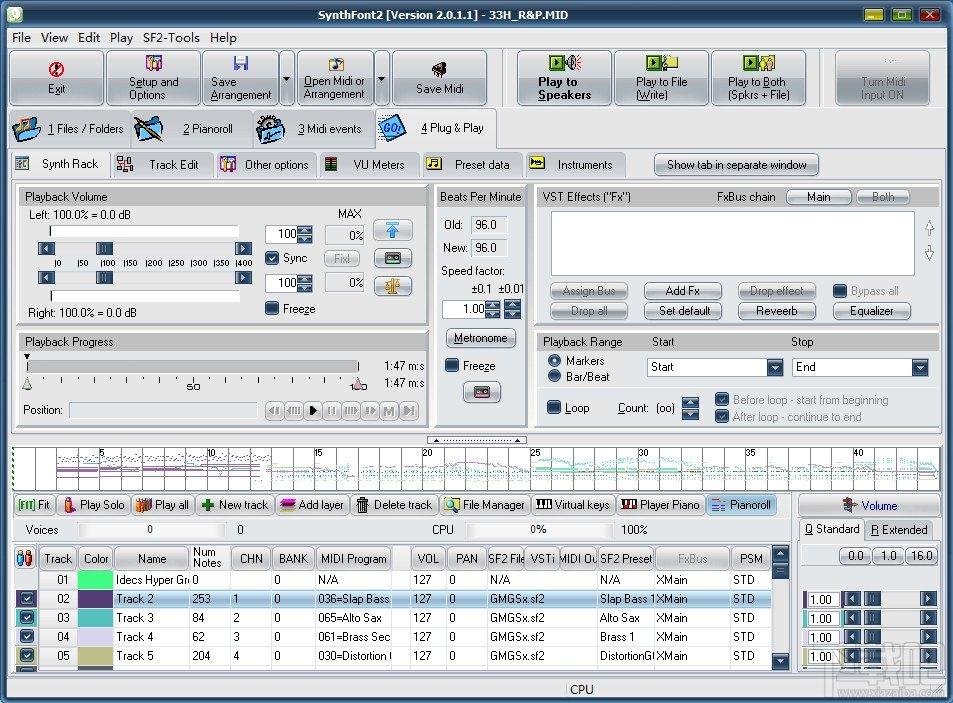 synthfont(音乐合成软件) v2.0.1.1 最新版 0