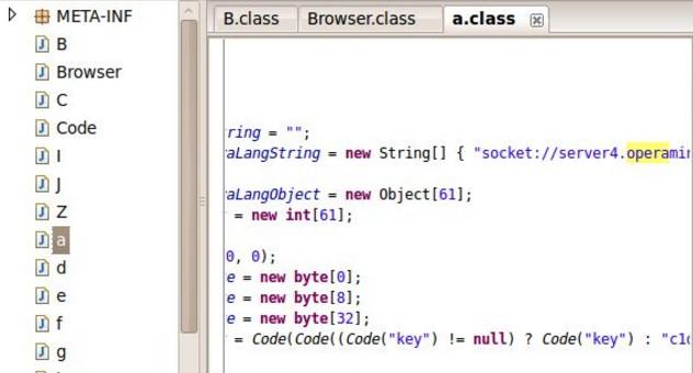 Jad-the fast Java Decompiler