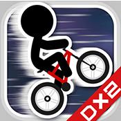 火柴人自行车游戏
