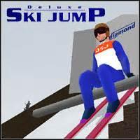 滑雪游戏Mediamond Deluxe Ski Jump