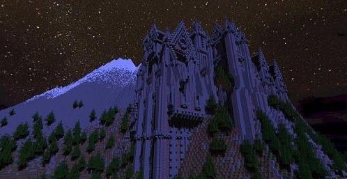 我的世界十九世纪山顶城堡存档 完整版
