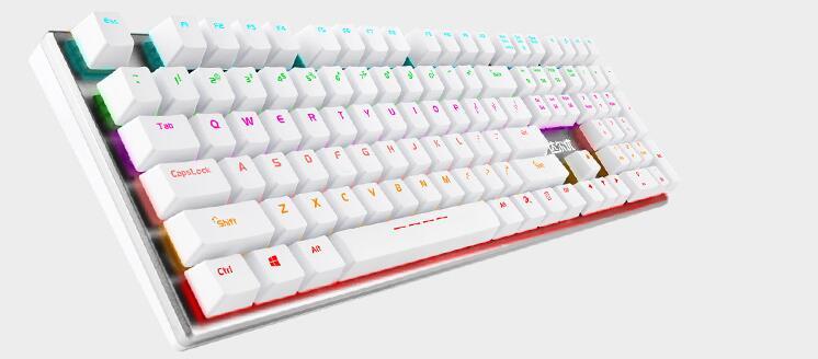 达尔优108键机械合金版机械键盘驱动程序  0