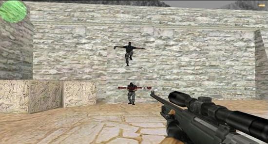 反恐精英cs1.5捡枪地图 截图1