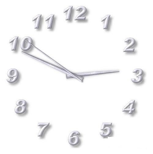 透明桌面钟表