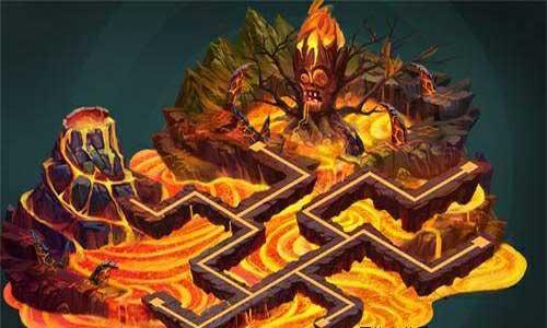 植物大战僵尸2火山世界游戏
