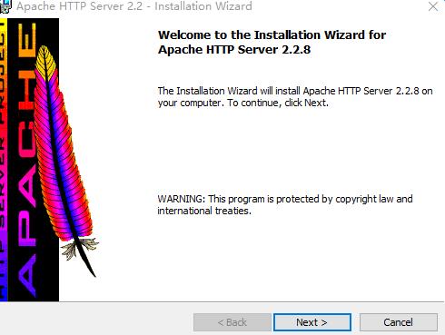 Apache for windows v2.4.27 免费版 0