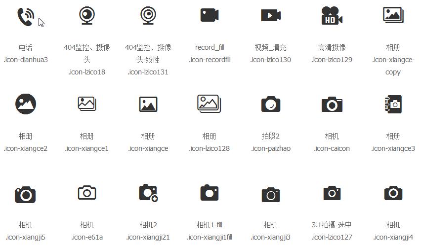 iconfont阿里巴巴矢量图标库 v1.0 免费版