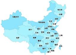 中国省份地图高清版
