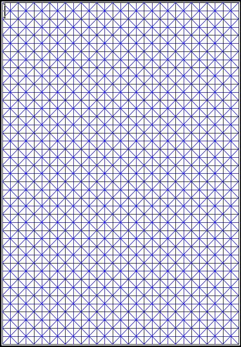 米字格doc练字模板免费版天正绘制水沟图片