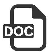 米字格doc练字模板