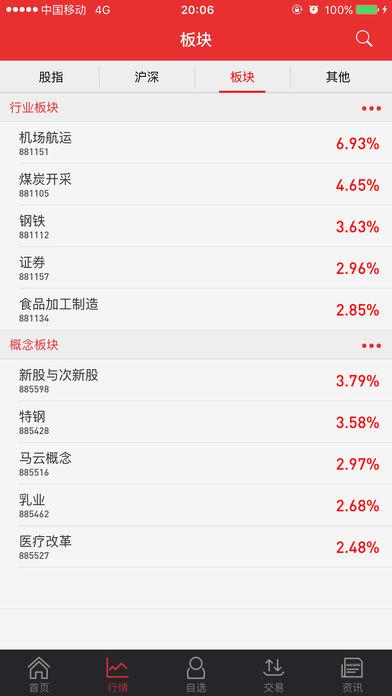 长城证券随身股同花顺版ios版 v3.7.4 iPhone版 0