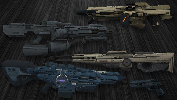 cs1.6未来武器模型