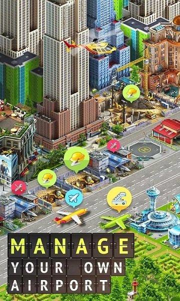 机场城市2中文破解版(airport city) v6.1.8 安卓版 0