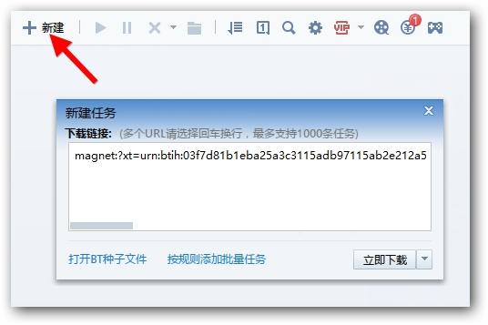 迅雷专用磁力链接前缀软件 v1.0 绿色免费版 1