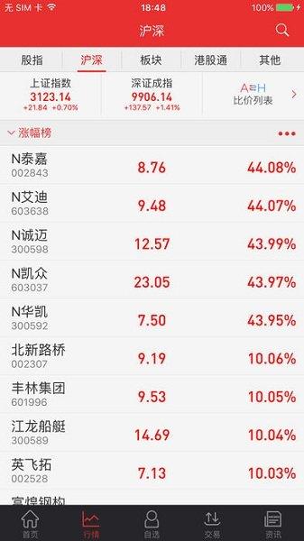 渤海证券同花顺手机证券苹果版 v2.7.8 iPhone版 0