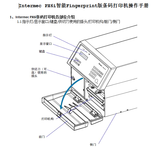 intermec px6i安装说明书