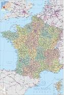 法国地图高清中文版