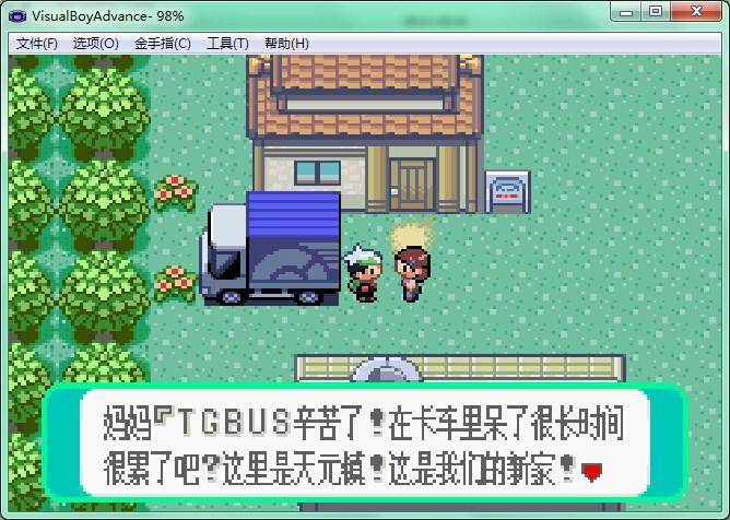 GBA口袋妖怪绿宝石 493正式版 0