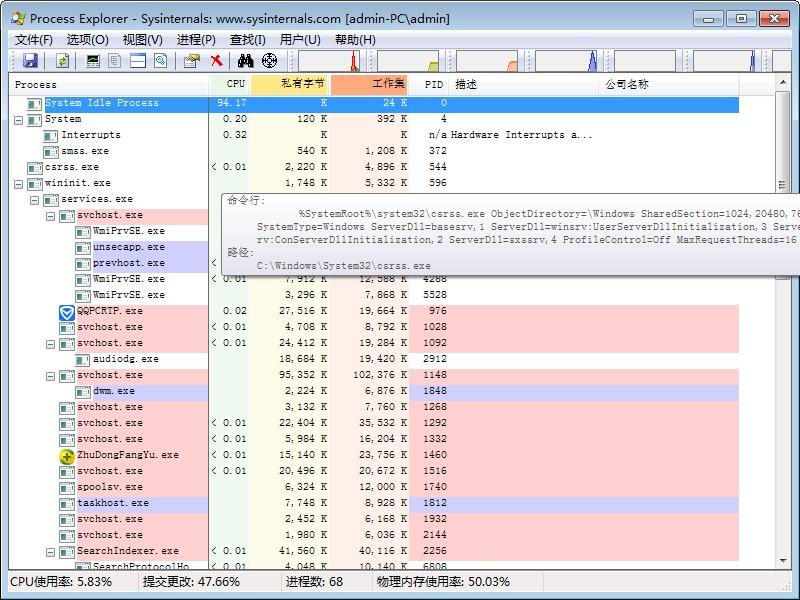 Process Explorer工具 v16.31 绿色版 0