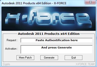AutoCAD2011注册机 免费版(32位/64位含安装教程) 0