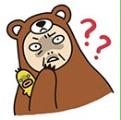 熊妥妥喱噜搞怪QQ表情包