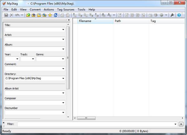 Mp3tag(MP3修改软件) v3.3.3.0b 绿色版 0
