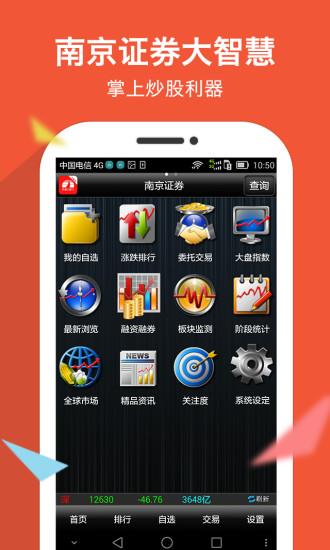 南京证券大智慧鑫易通 v8.0.3 官方钱柜娱乐官网版 0