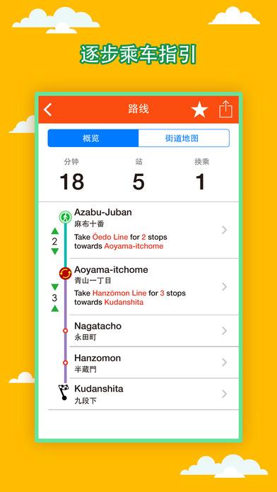东京地铁2017中文版 v6.5.6 官网安卓版 1