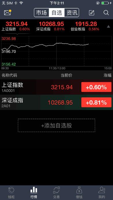 世纪证券小薇2.0苹果客户端 v1.01.002 iPhone手机版 1
