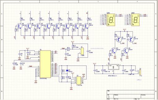 电子 → protel99se汉化版   protel99se软件是由两大部分组成:电路