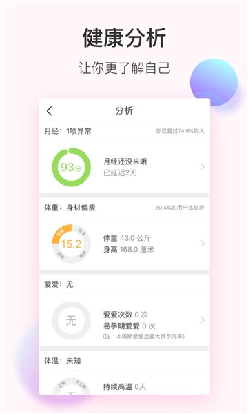 美柚经期助手 v7.3.2 安卓最新版 3