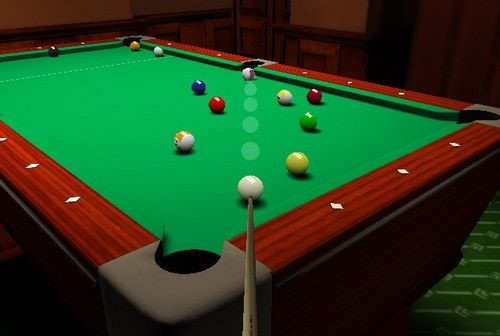 3D国际斯诺克桌球