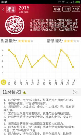 运气日历 v4.0.0 钱柜娱乐官网版 1