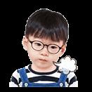 宝宝随时都可以萌化你的心,喜欢民国的小伙伴怎么可以少了这款表情包图片