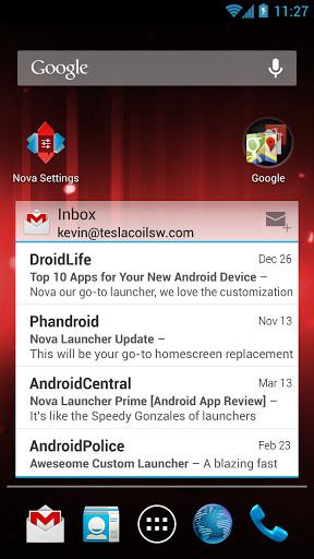 Nova桌面 v5.3 安卓版 0
