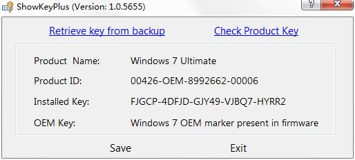 showkey下载 查看电脑激活秘钥软件(ShowKey)下载v1 0 5655 绿色版_ 当易网