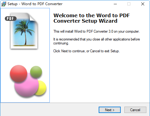 word to pdf converter(word转pdf) v2017 最新版 0