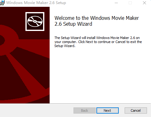 Windows Movie Maker(家庭电影制作) v2.6 简体中文版 0