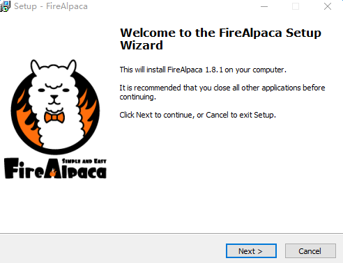 firealpaca(绘画软件) v1.8.1.0  官方最新版 0