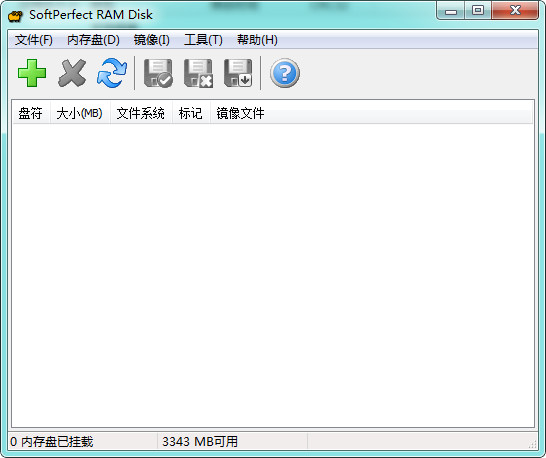 softperfect ram disk(创建虚拟内存盘) v4.0.2 中文版 0