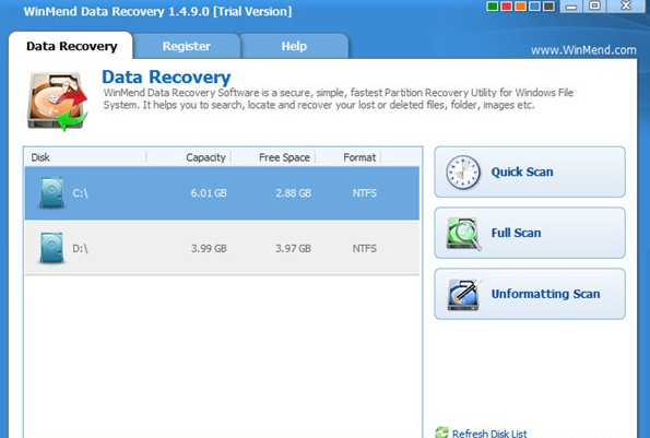 WinMend Data Recovery(数据恢复软件) v1.4.9 官方免费版 0
