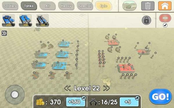 陆军战争模拟器破解版 v1.0.21 安卓版 1
