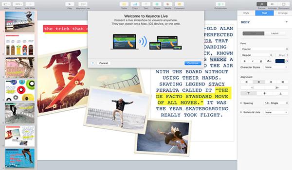 keynote for mac(PPT办公软件) v11.1 苹果电脑版 0